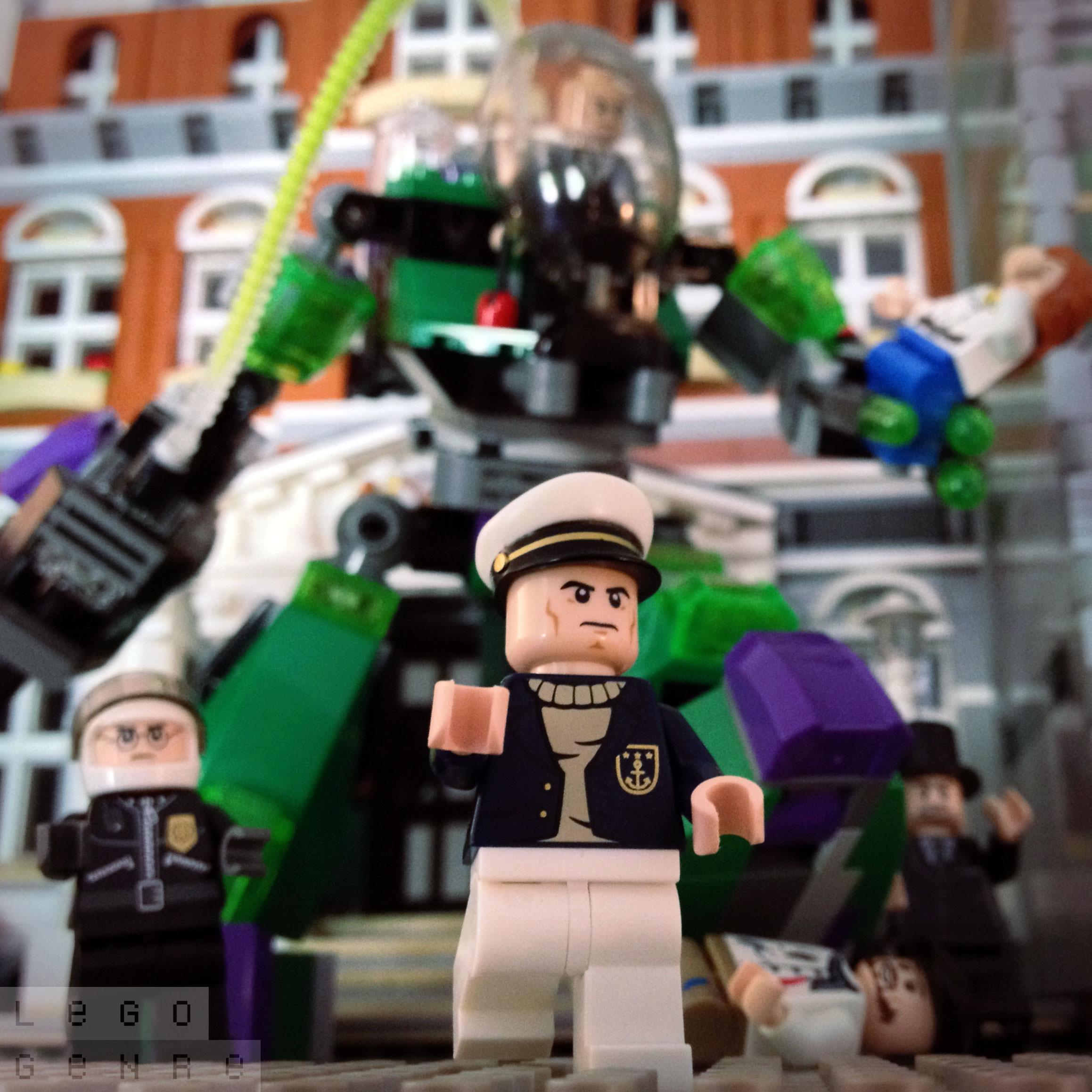 LegoGenre 00290: Lex Luthor And His Power Armor.