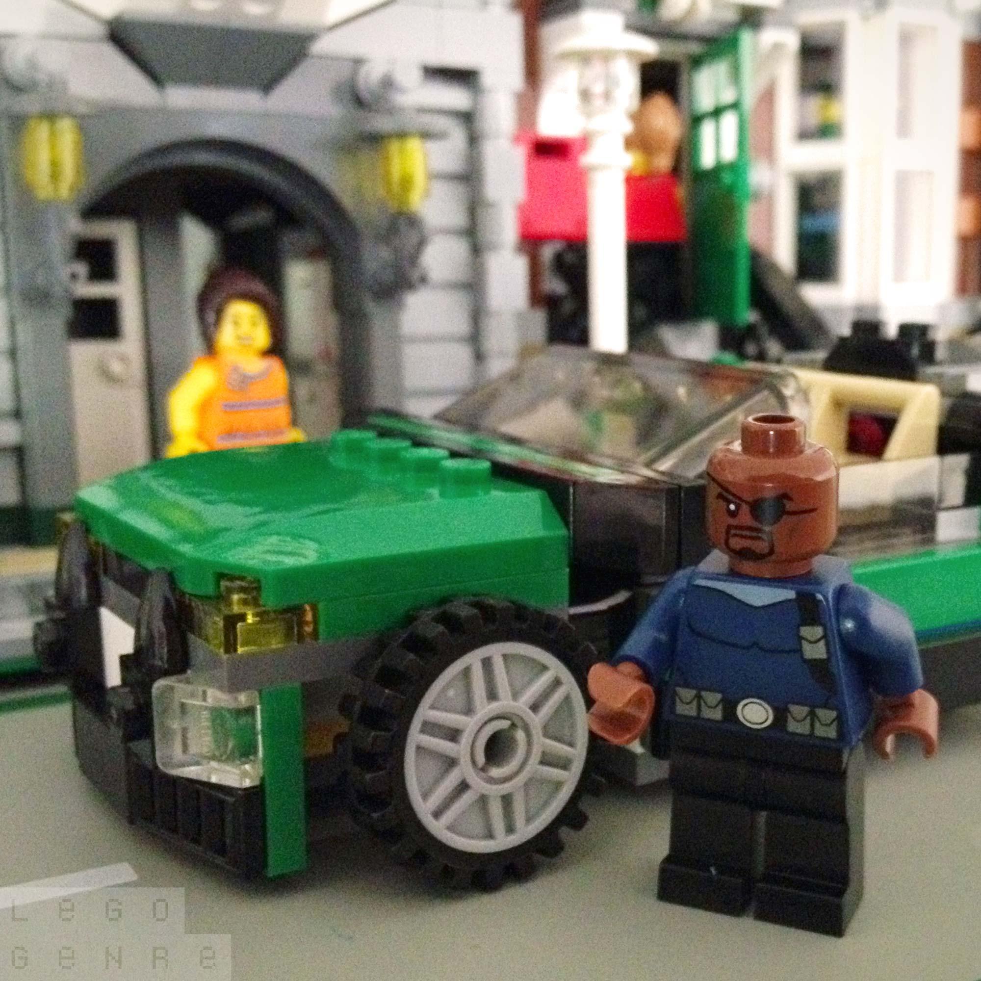LegoGenre 00295: Nick Fury