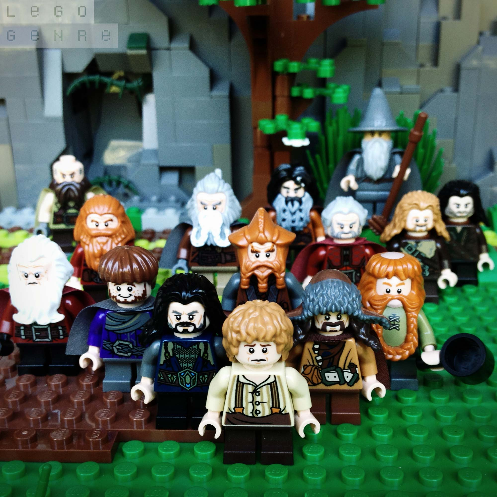 LegoGenre 00294: Thorin And Company