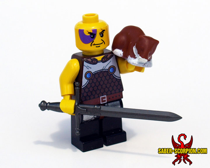 SaberScorpion's Baldur's Gate 2 Minsc and Boo Minifigure