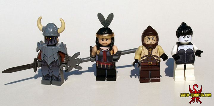 SaberScorpion's Baldurs Gate 2 Villain Minifigures
