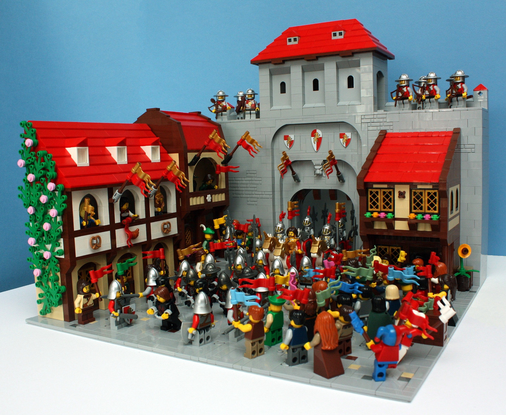 Teabox's Lego Castle, Welcoming The King Pt. 3