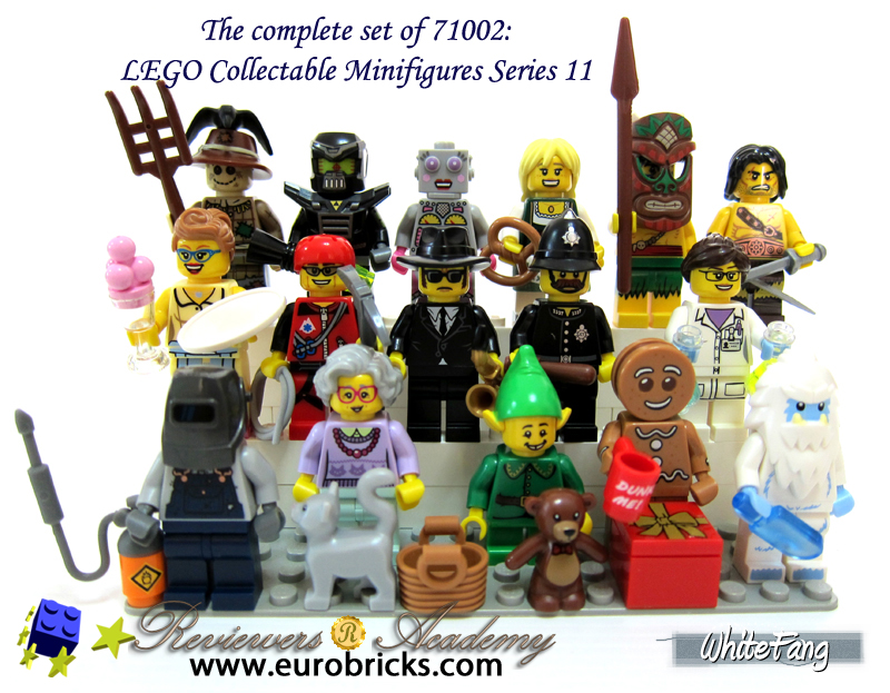 WhiteFang's Lego Minifigures Series 11 Review