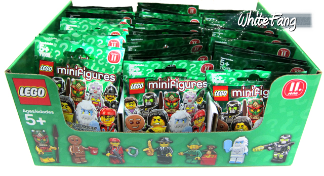 WhiteFang's Lego Minifigures Series 11 Review Box