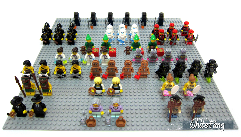 WhiteFang's Lego Minifigures Series 11 Review Distribution