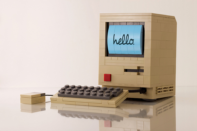 Chris McVeigh's Lego Macintosh Hello