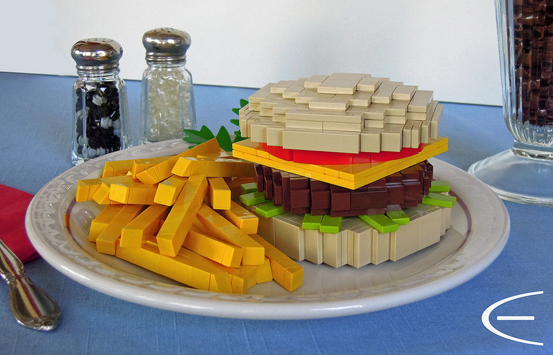Cole Edmonson's Diner Fare, Lego Cheeseburger and Fries