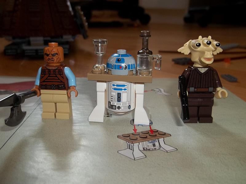 Csacsa234's Lego Star Wars Jabba's Sail Barge 75020 Minifigures