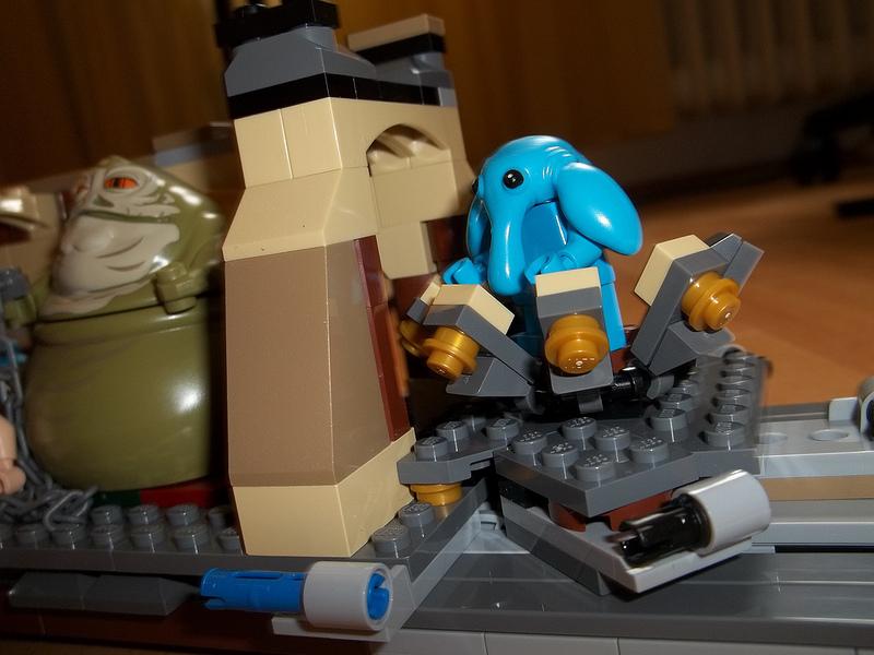 Csacsa234's Lego Star Wars Jabba's Sail Barge 75020 Review 02