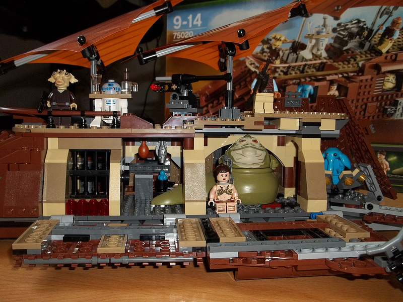 Csacsa234's Lego Star Wars Jabba's Sail Barge 75020 Review 03