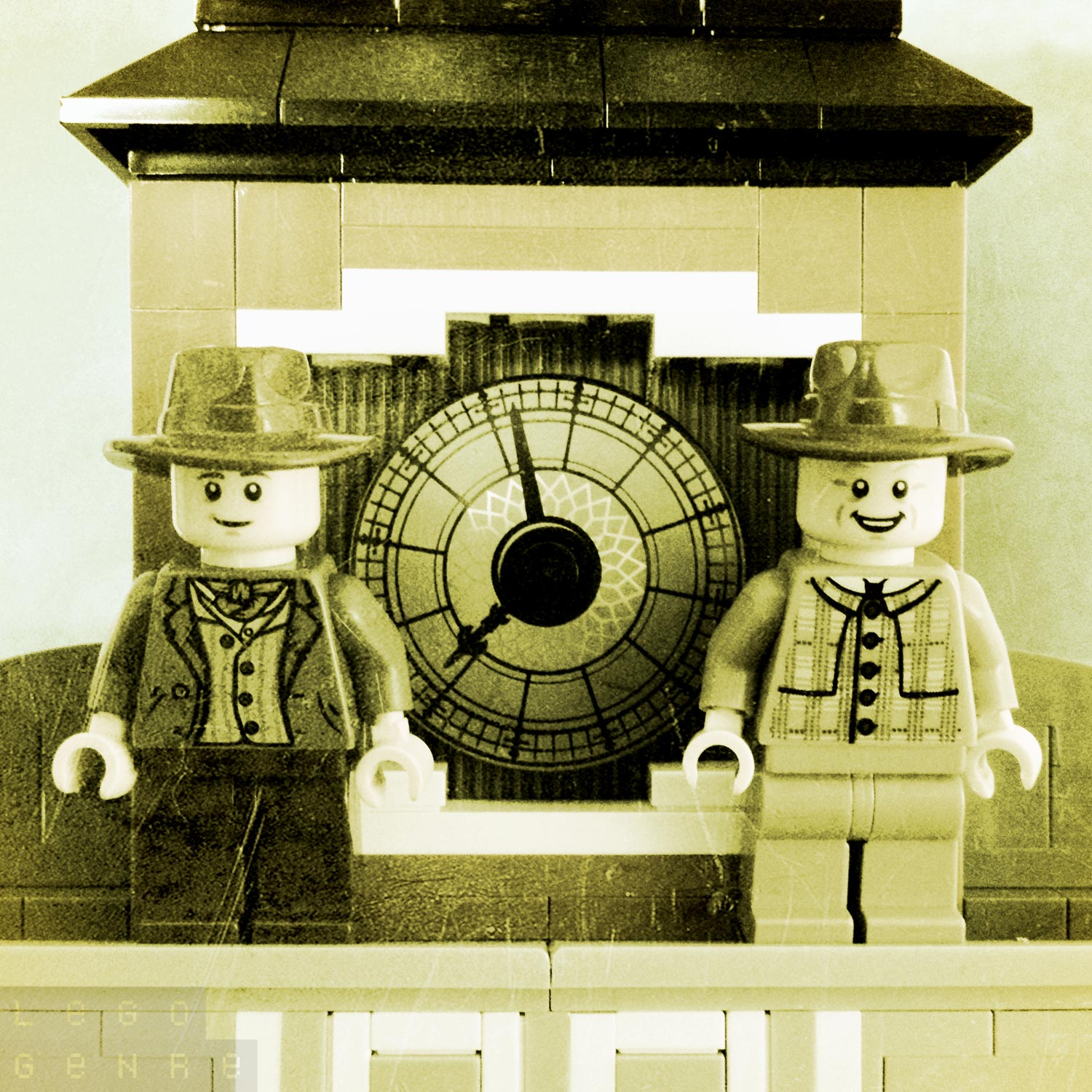"LegoGenre 00307: ""Great Scott. It's me! Then, it is true. All of it."""