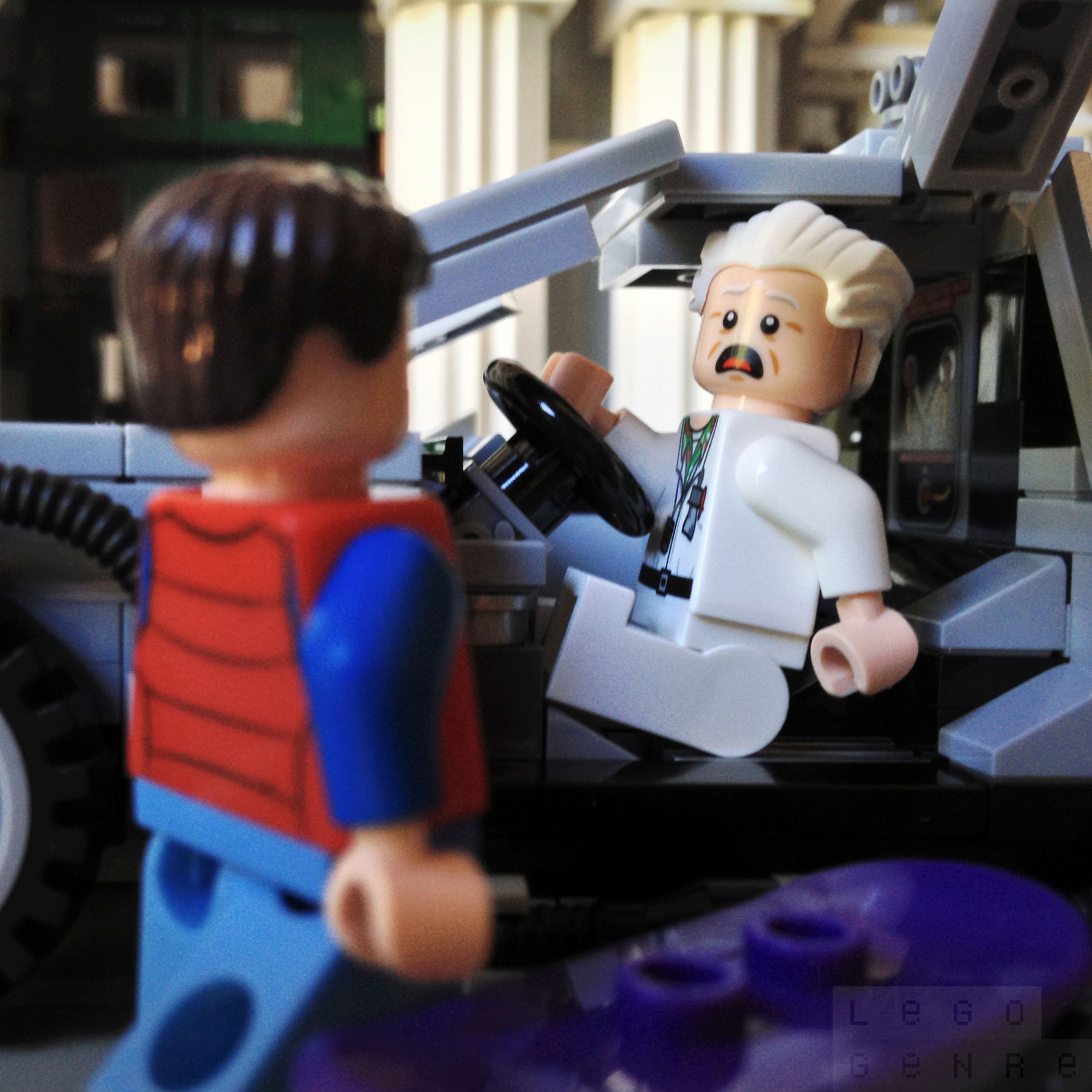 LegoGenre: Wait a minute, Doc. Ah… Are you telling me that you built a time machine… out of a DeLorean?