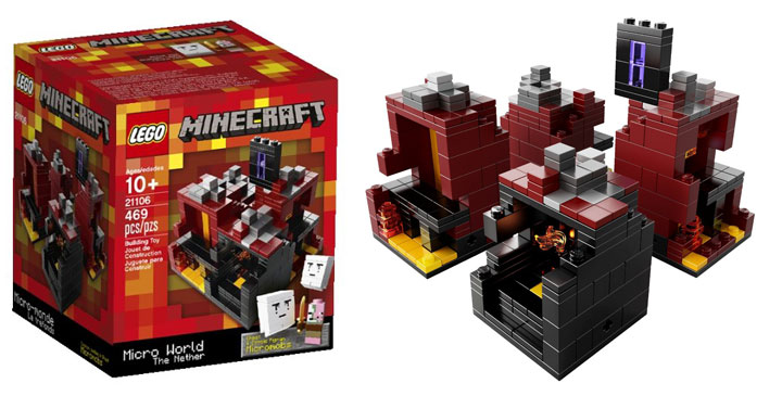 Lego Minecraft The Nether Micro World