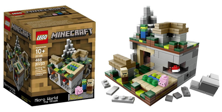 Lego Minecraft The Village Micro World