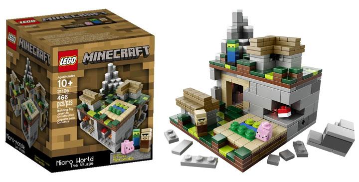 Lego Minecraft The Village Micro World