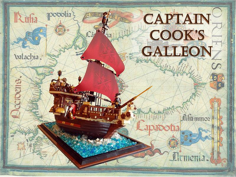 PippoZane's Lego Captain Cooks Galleon