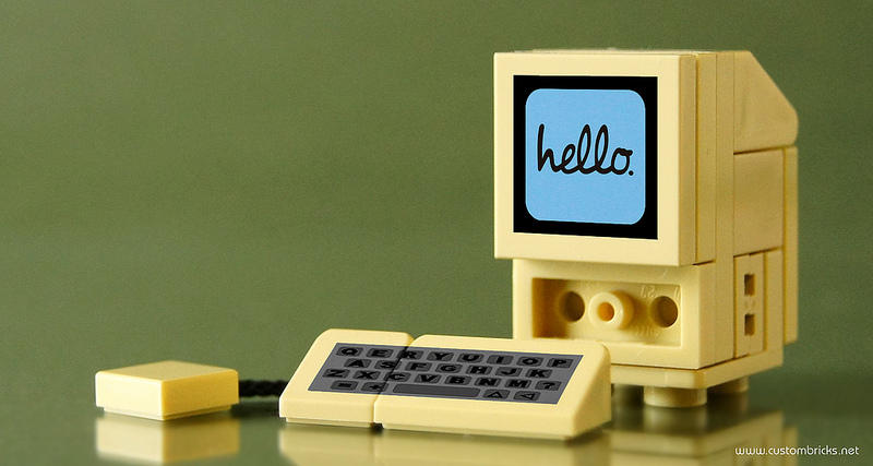 customBRICKS's 128k Lego Apple Macintosh