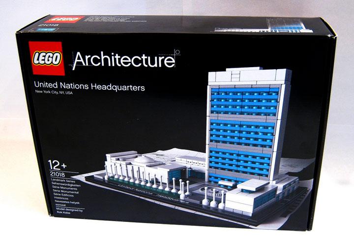 Brickbuilder0937's United Nations Headquarters Review 01