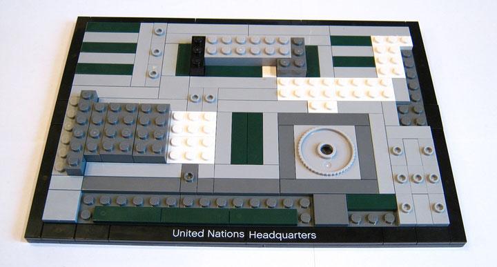 Brickbuilder0937's United Nations Headquarters Review 04