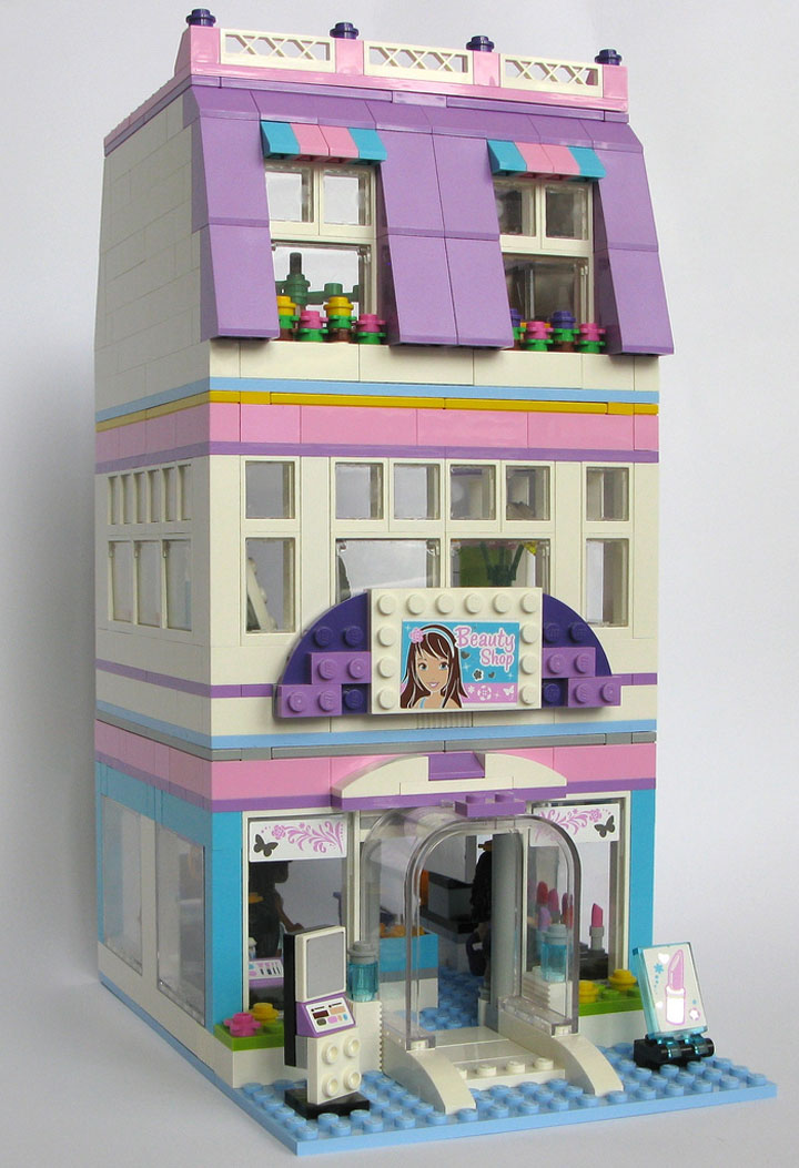 Kristel's Lego Friends Emma's Place 01