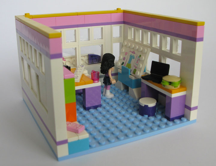 Kristel's Lego Friends Emma's Place 03