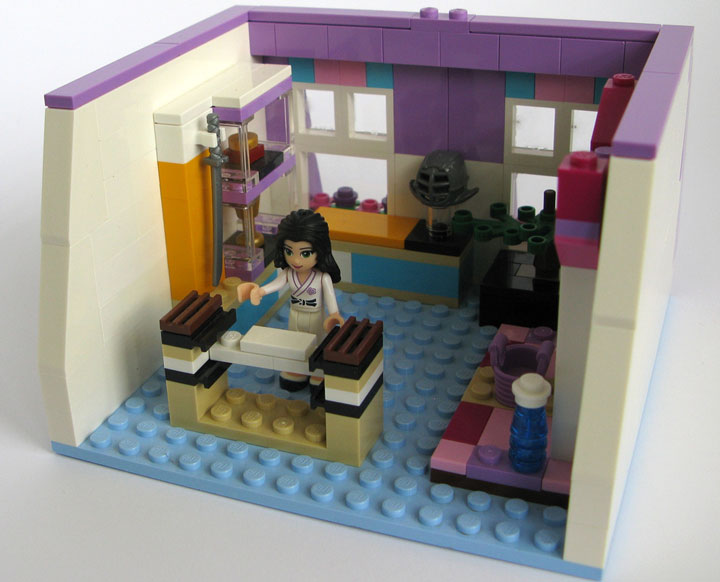 Kristel's Lego Friends Emma's Place 04