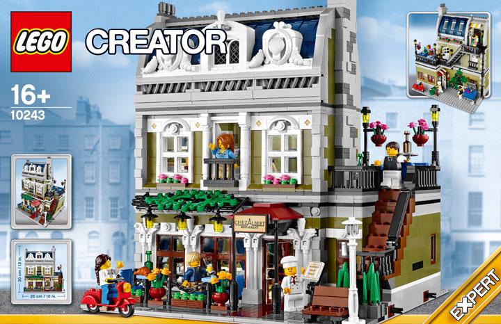 Lego Creator Parisian Restaurant 10243 01