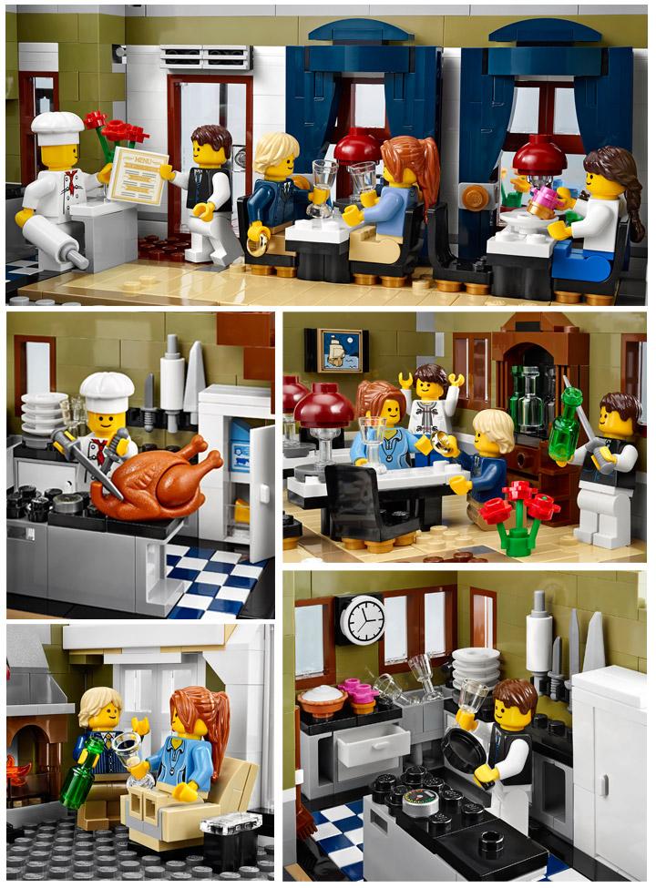 Lego Creator Parisian Restaurant 10243 03