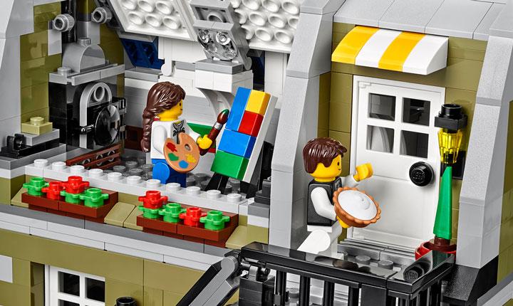 Lego Creator Parisian Restaurant 10243 05