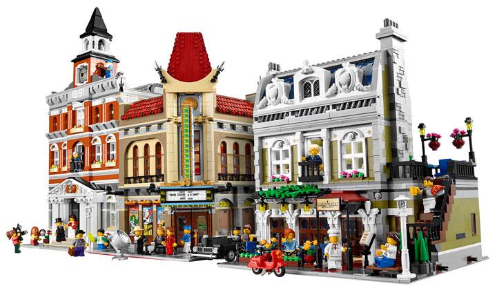 Lego Creator Parisian Restaurant 10243 06
