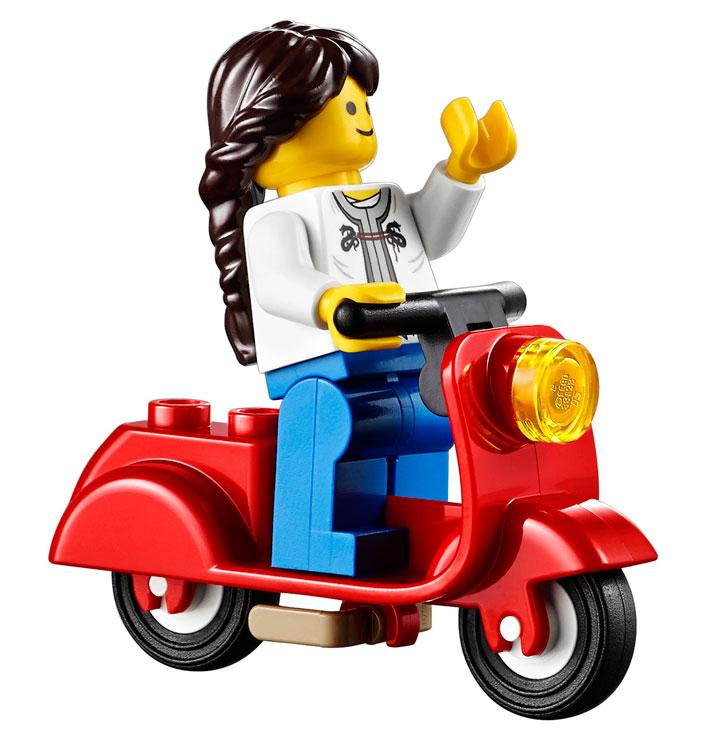 Lego Creator Parisian Restaurant 10243 07