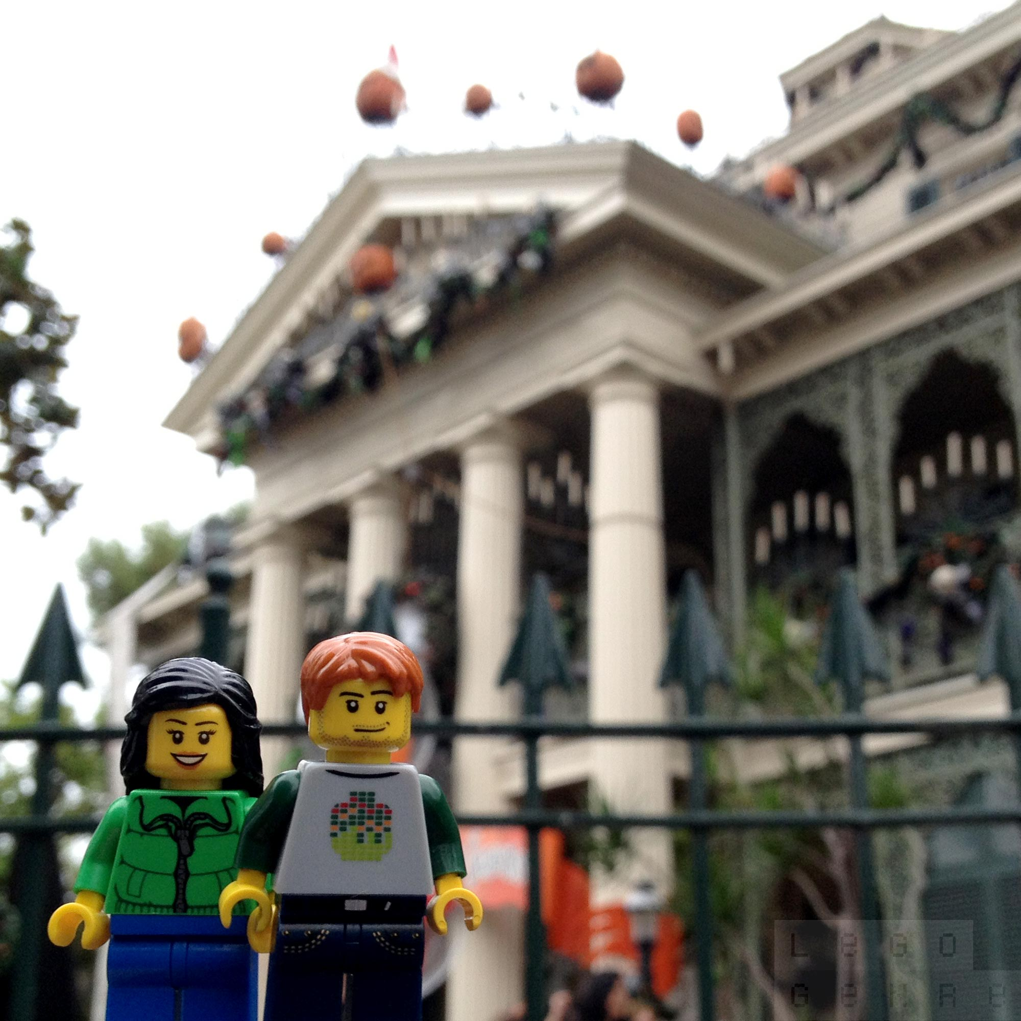 LegoGenre 00311: Halloween Time At The Haunted Mansion.