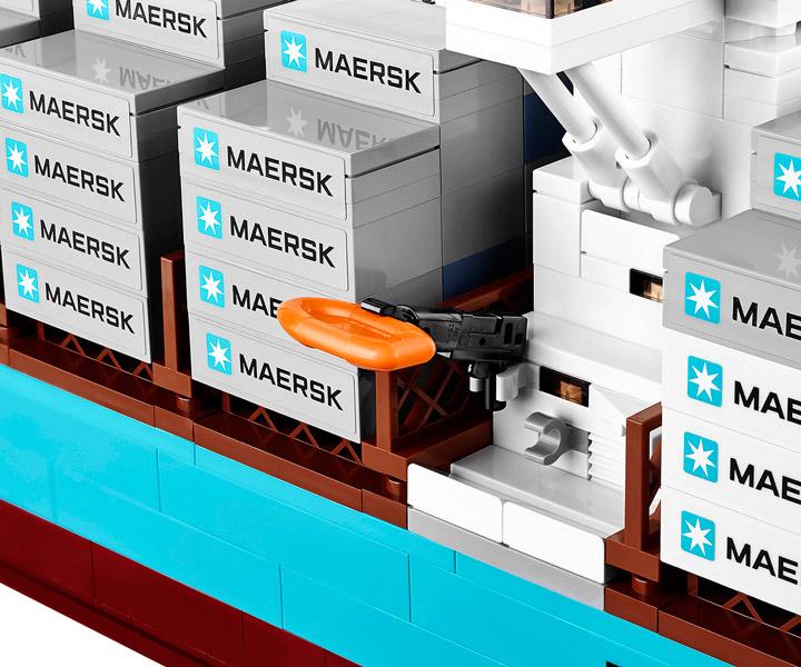 Lego Maersk Line Triple-E 10241 Detail