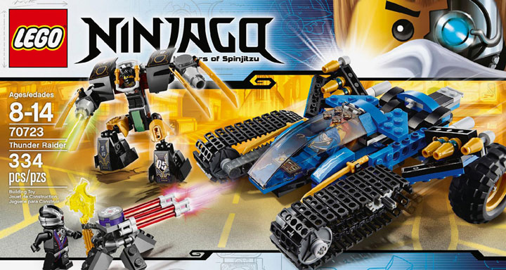 Lego Ninjago Tunder Raider 70723