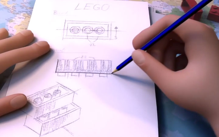 The Lego Story, An Animated History of Lego.