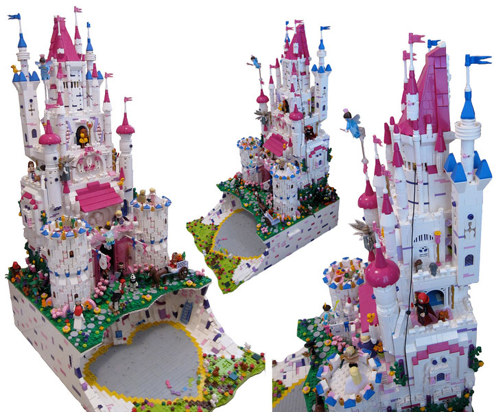fujiia and Kloou's Lego Friends Castle: Friendsington Castle 02