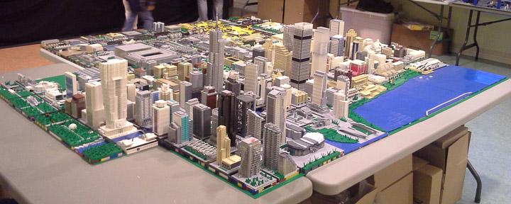 Brickville Lego City Display