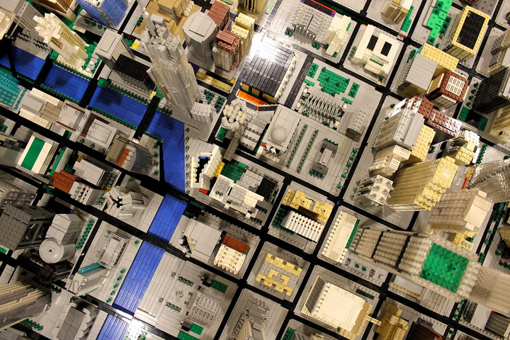 Brickville Lego City Overhead SimCity