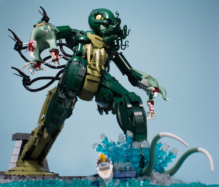 Carl Merriam's The Madness From The Sea, Lego Cthulhu