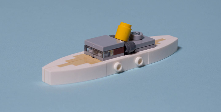 Carl Merriam's The Madness From The Sea, Lego Cthulhu Boat