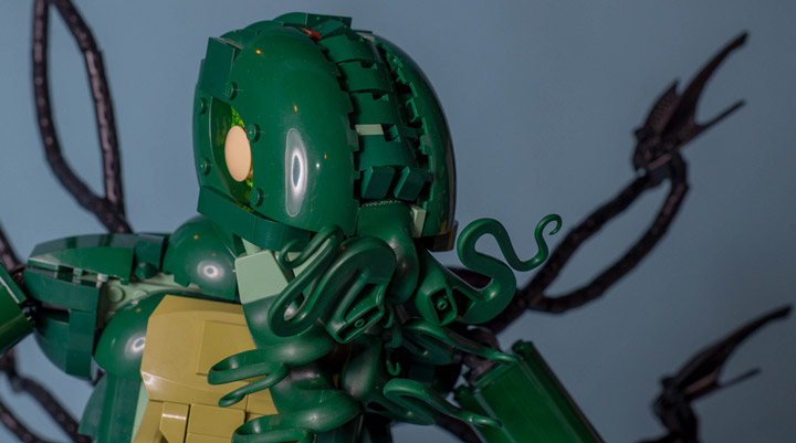 Carl Merriam's The Madness From The Sea, Lego Cthulhu Face