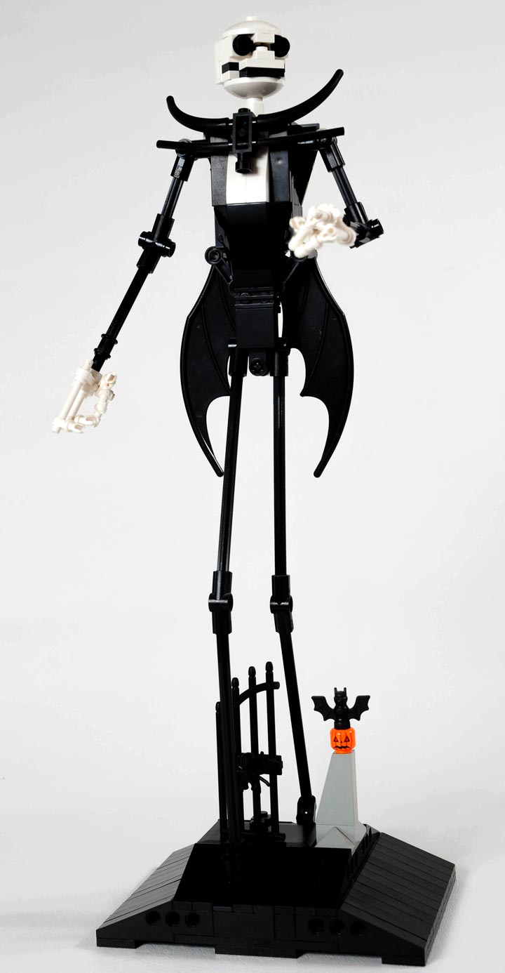 Carl Merriams The Nightmare Before Christmas Lego, Jack Skellington