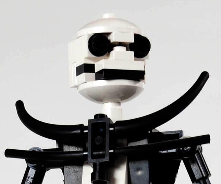 Carl Merriams The Nightmare Before Christmas Lego, Jack Skellington 2