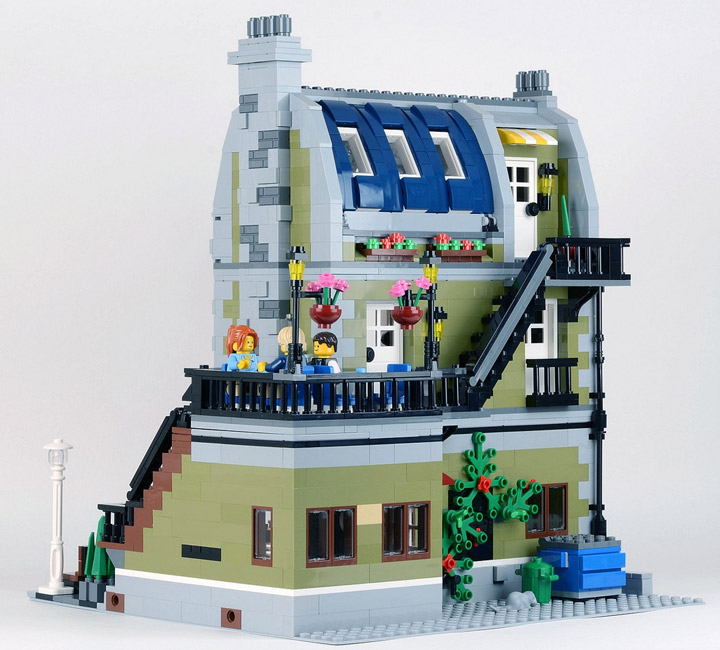 Lego Parisian Restaurant Modular Building 10243 Reviewed By Huw