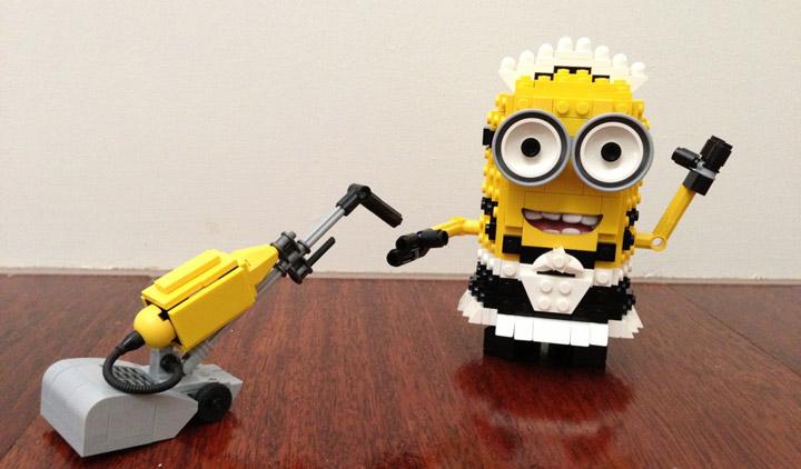 LegoAdmiral's Lego Minion Maid