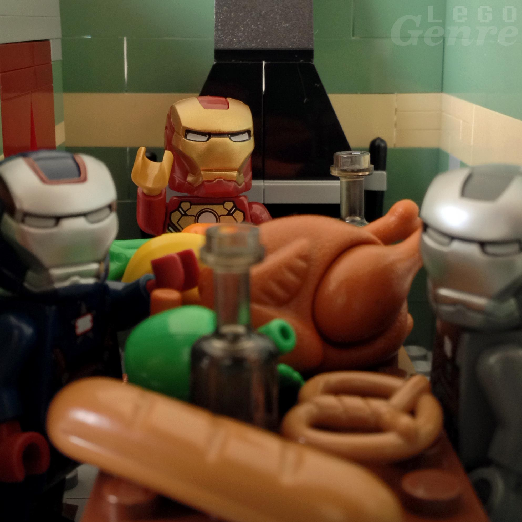 LegoGenre 00334: An Iron Man Thanksgiving