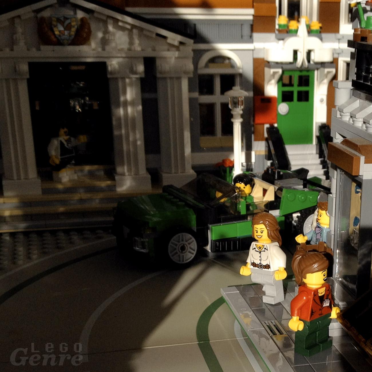LegoGenre 00331: Cruisin' for a Bruisin'