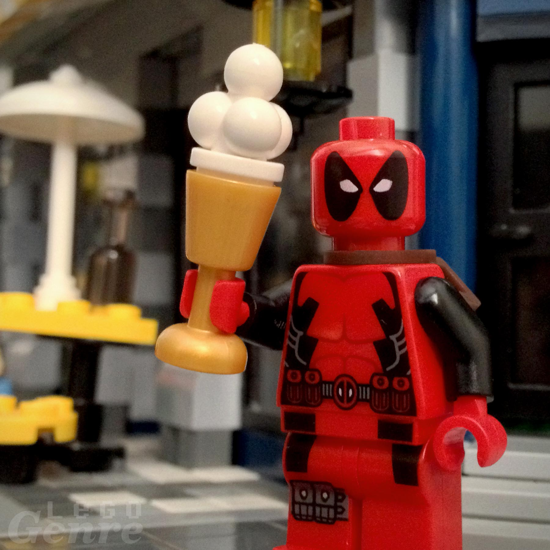 LegoGenre 00327: Deadpool's Day Off