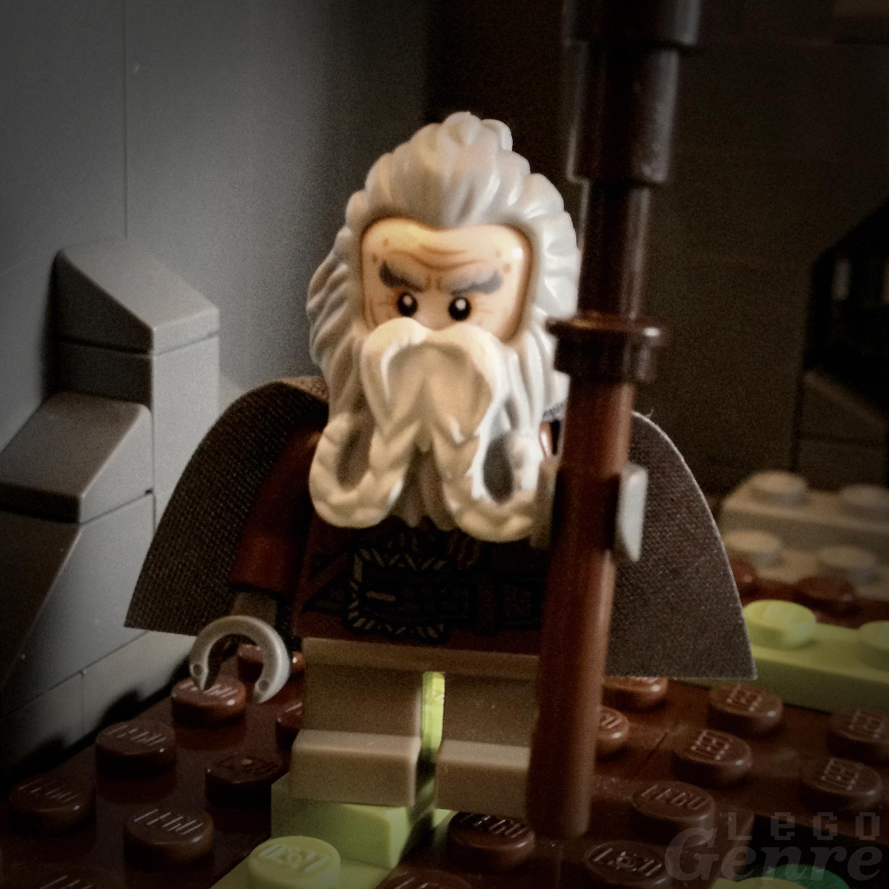 LegoGenre 00330: Oin, Brother of Gloin, Cousin of Dwalin and Balin, Uncle of Gimli