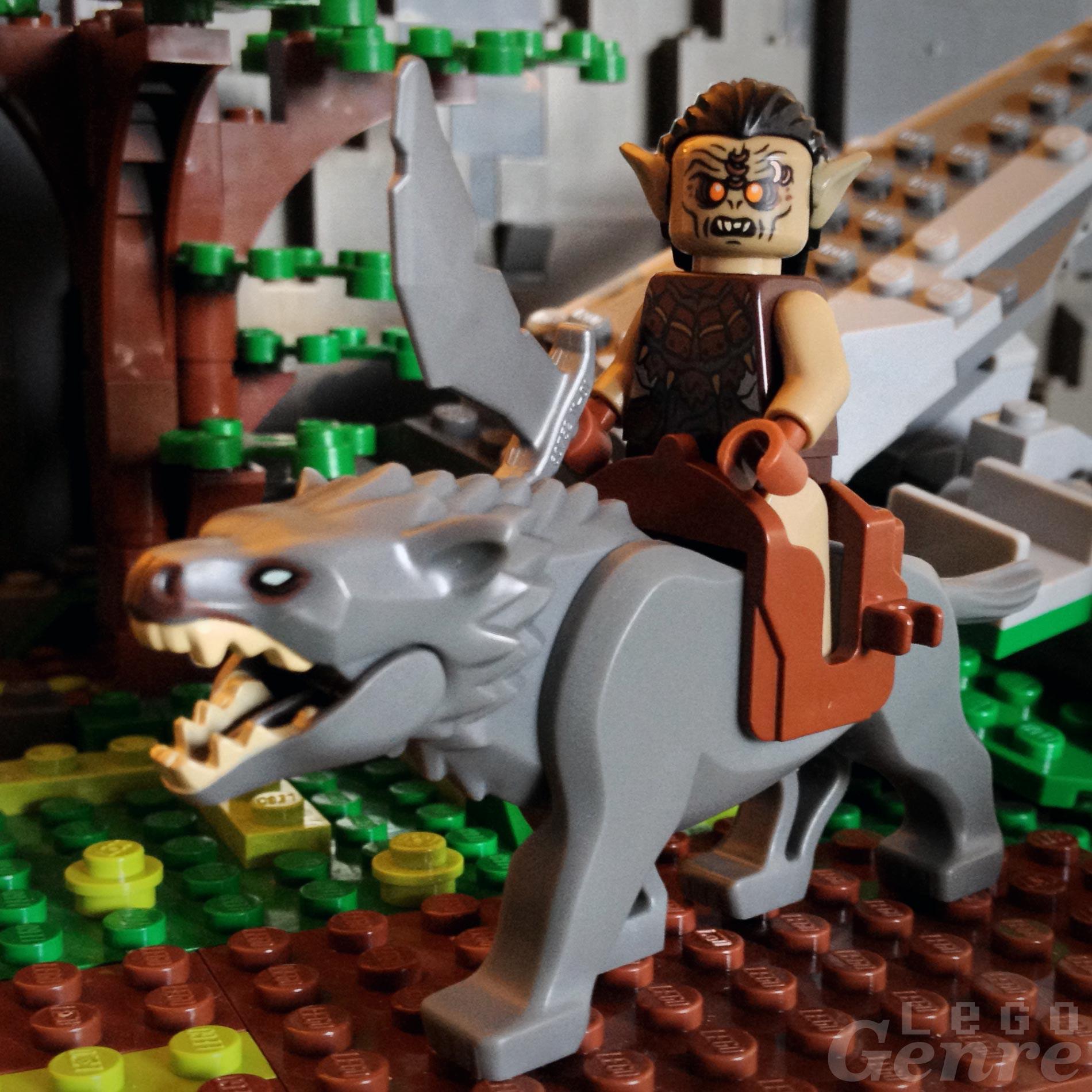 LegoGenre 00328: Warg-riders